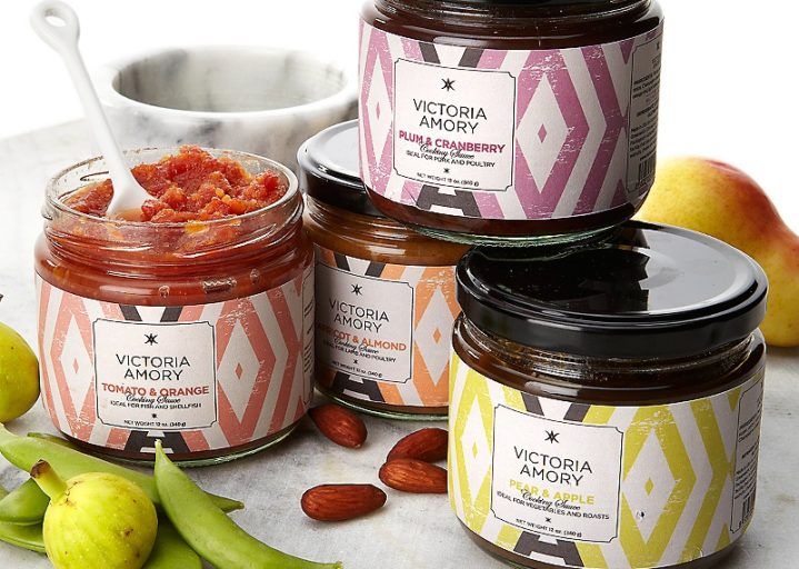 Victoria Amory packaging by ideologo