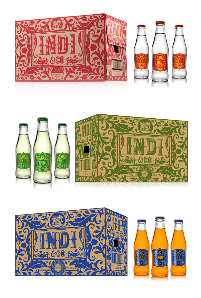 indi&co cajas 24 botellas