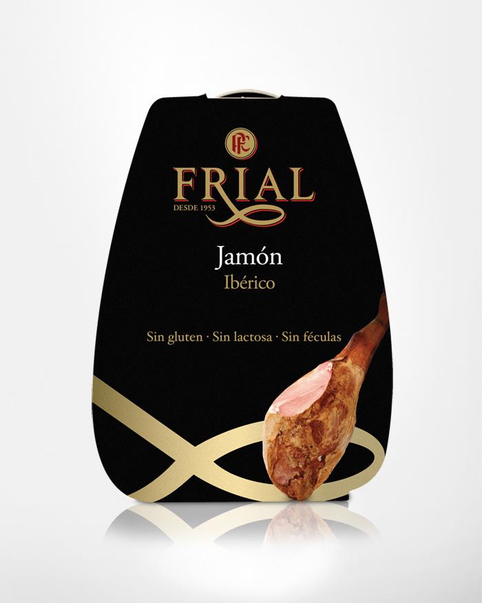 Grupo Frial packaging lata jamón ibérico, ideólogo