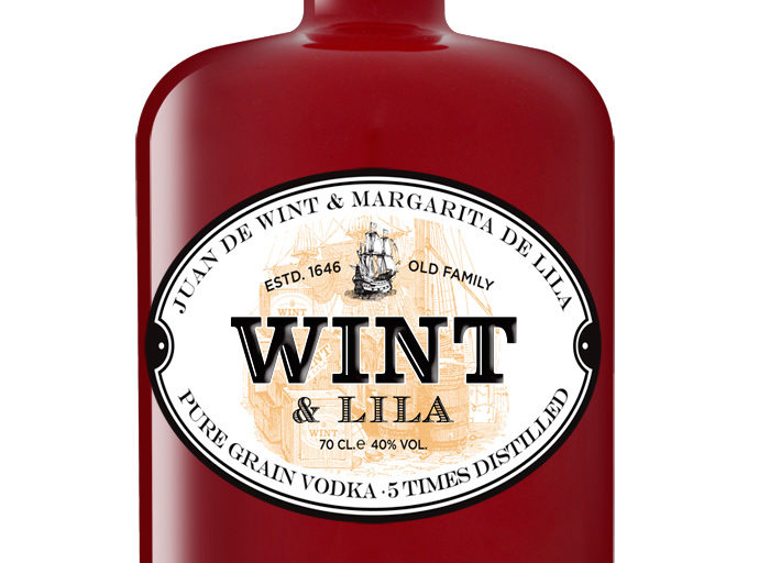 Vodka Wint & Lila. Packaging Design by Ideologo