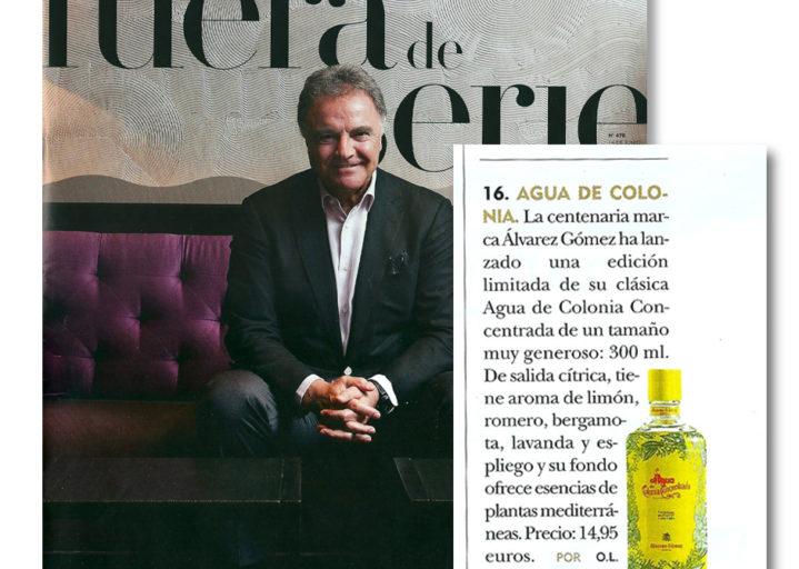 Agua de Colonia Concentrada de Alvarez Gómez Edición Limitada por ideologo.com