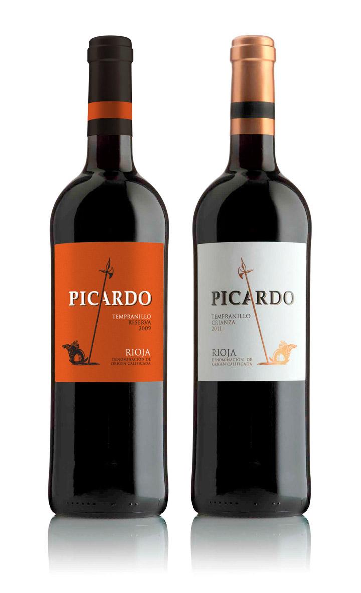 Picardo vino rioja