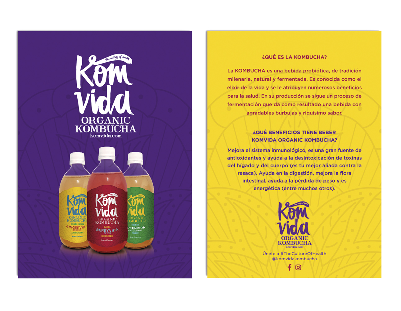 Komvida flyer color ideologo