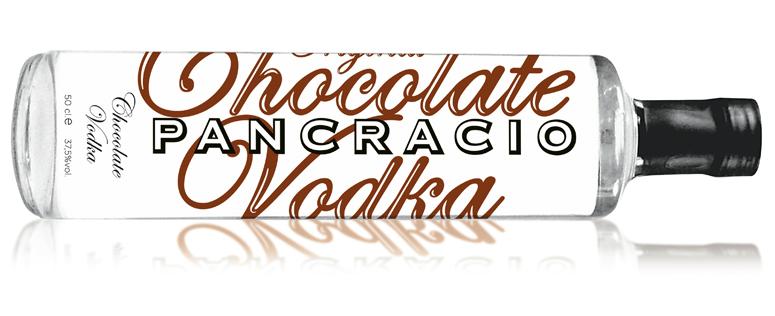 Botella Pancracio Vodka Chocolate Ideologo
