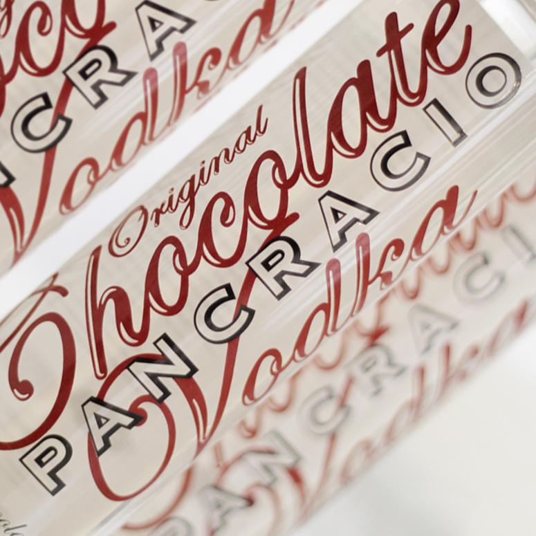 Pancracio Vodka Chocolate Ideologo