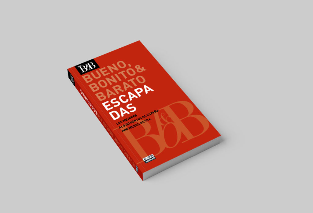 Guías BBB (Bueno, Bonito y Barato) para El País Aguilar (Penguin Ramdom House). Un diseño claro y directo, libre de elementos innecesarios.
