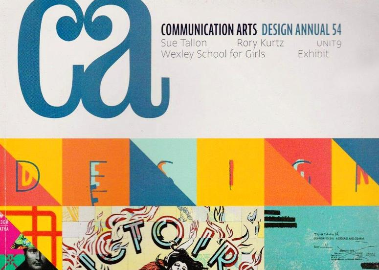 Ideólogo Comm Arts Design Annual 54